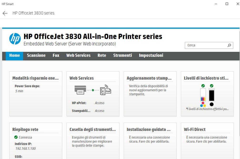HP Canon Office Jet 8830 offline