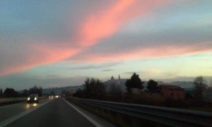 Road to Castelfidardo