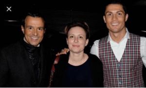 Chantal e Cristiano Ronaldo