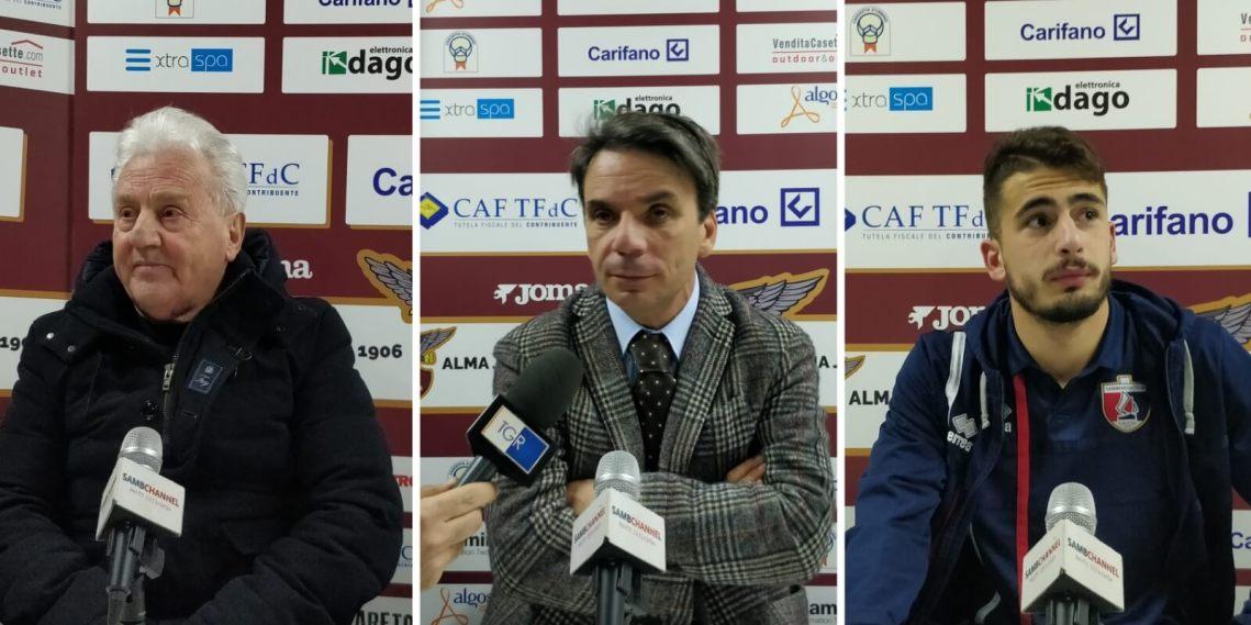 Conferenza stampa Fano-Samb