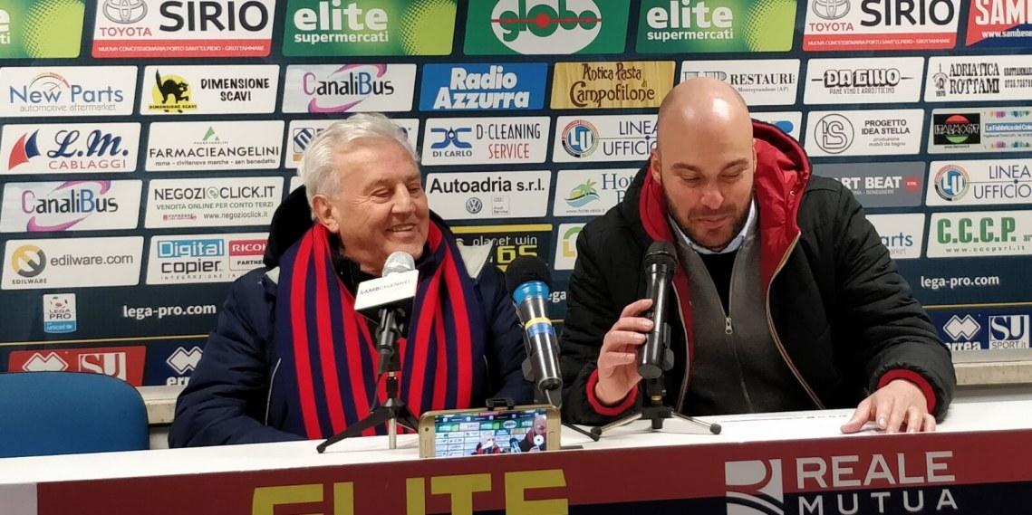 Franco Fedeli e Francesco Panfili