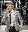 Rod Stewart by Mary Boukouvalas