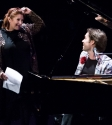 Carrie Fisher and Rufus Wainwright. Photo by Ros O'Gorman