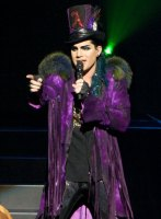 Adam Lambert - Photo By Ros O'Gorman