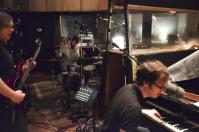 Ben Folds Five in the studio (photo by Ben Folds twitter)
