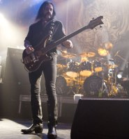 Lemmy of Motorhead. Photo by Ros O'Gorman