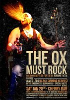 The Ox Must Rock benefit concert