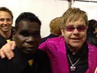 Gurrumul and Elton John