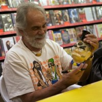 Tommy Chong image by Ros O'Gorman