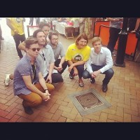 Hungry Kids of Hungry unveil plaque in Brunswick St Mall