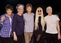 The Rolling Stones with Lady Gaga