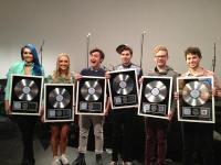 Sheppard awarded platinum record, Noise11, Photo