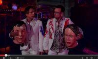 Bono and Ben Stiller in Arcade Fire video, Noise11, Photo