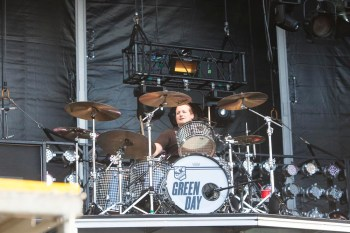 Tre Cool, Green Day, Soundwave, Ros O'Gorman, Photo