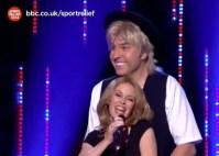 Kylie Minogue and David Walliams