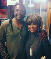 Bernard Fowler and Tina Turner