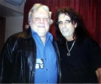 Dick Wagner and Alice Cooper