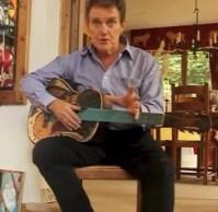 Alvin Stardust million dollar guitar