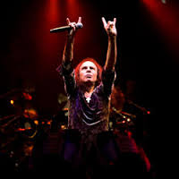 Ronnie James Dio photo by Ros O'Gorman