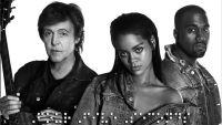 Paul McCartney Rihanna Kanye West