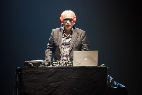 Giorgio Moroder photo by Ros O'Gorman