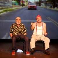 Cheech and Chong photo by Ros O'Gorman