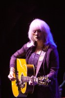 Steve Fisher Emmylou Harris and Rodney Crowell perform at the Palais Theatre in St Kilda Melbourne on Thursday 25 June 2015. Photo Ros O'Gorman