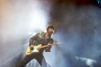 The Edge, U2 perform at Etihad Stadium.
