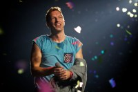 Chris Martin, Coldplay. Photo by Ros O'Gorman