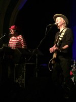 Greedy Smith and Martin Plaza, Mental As Anything perform at the Caravan Club on Sunday 9 August 2015