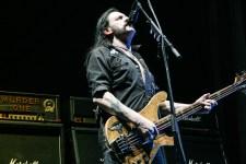 Motorhead singer and bassist Lemmy Kilmister. Photo by Ros O'Gorman