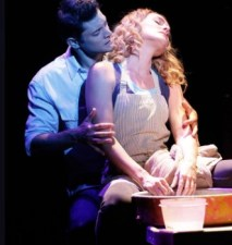 Rob Mills and Jemma Rixx in Ghost The Musical