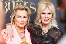 Jennifer Saunders and Joanna Lumley attend the Melbourne Premiere of ABSOLUTELY FABULOUS: THE MOVIE at Village Cinemas Crown on Tuesday, August 2. Photo Ros O'Gorman