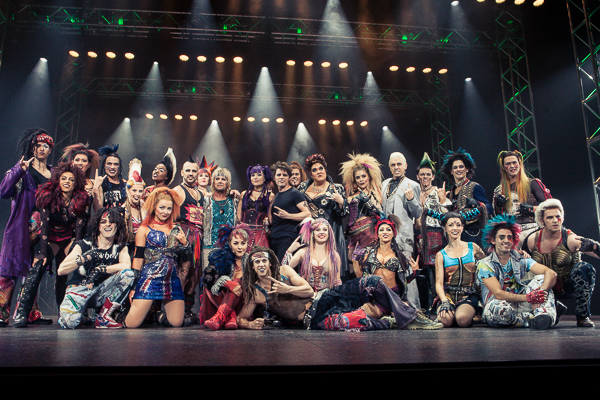 We Will Rock You Cast at the Media Call Regent Theatre Melbourne on Thursday 1 September 2016. Photo Ros O'Gorman
