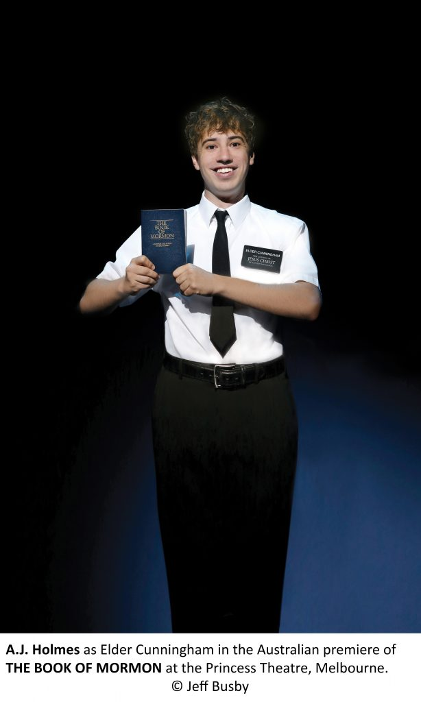 The Book Of Mormon Opens With Australian Premiere In Melbourne
