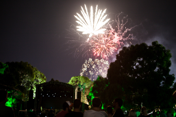 A Weekend In The Gardens in the Botanical Gardens Melbourne on Sunday 12 March 2017. Held over the March 2017 Moomba long weekend in Melbourne.