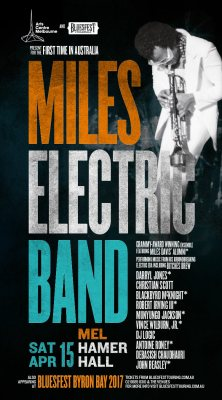 Miles Electric Band Australia 2017