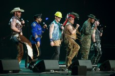 The Village People performed at The Palais theatre in St Kilda on Thursday 25 May 2017. Photo by Ros OGorman