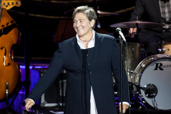 k.d. Lang at the Plenary in Melbourne on 18 July 2017. Photo by Ros O'Gorman