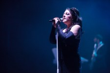 Joanne Catherall, The Human League performs at the Palais in St Kilda on Wednesday 14 December 2017. Photo by Ros O'Gorman