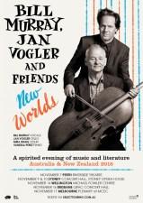 Bill Murray Jan Vogler New Worlds