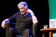 Roger Waters talking at an event for Australia Palestine Advocacy Network (APAN) at the Atheneum Theatre Melbourne on Friday 9 February 2018. Photo Ros O'Gorman