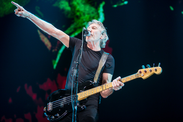 Roger Waters played Rod Laver Arena Melbourne on Saturday 10 February 2018. Roger Waters is performing his Us and Them Australian tour. Photo, Ros O'Gorman