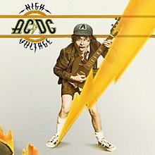 AC/DC High Voltage US edition