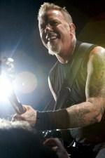 James Hetfield of Metallica photo by Ros OGorman