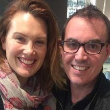 Clare Bowditch and John Hedigan