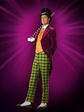 Paul Slade Smith as Willy Wonka in Charlie and the Chocolate Factory
