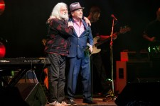 Brian Cadd and Glenn Shorrock perform at the Palais Theatre in Melbourne on Sunday 24 June 2015 as part of the APIA Good Times Tour 2015 (photo by Ros O'Gorman)