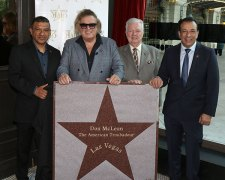 Don McLean presented with Star on Las Vegas Walk of Stars
