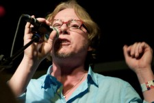 Mike Mills of REM photo by Ros O'Gorman